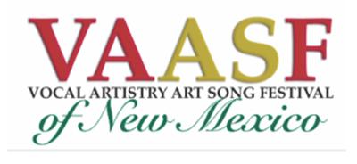 vocal artistry art song festival