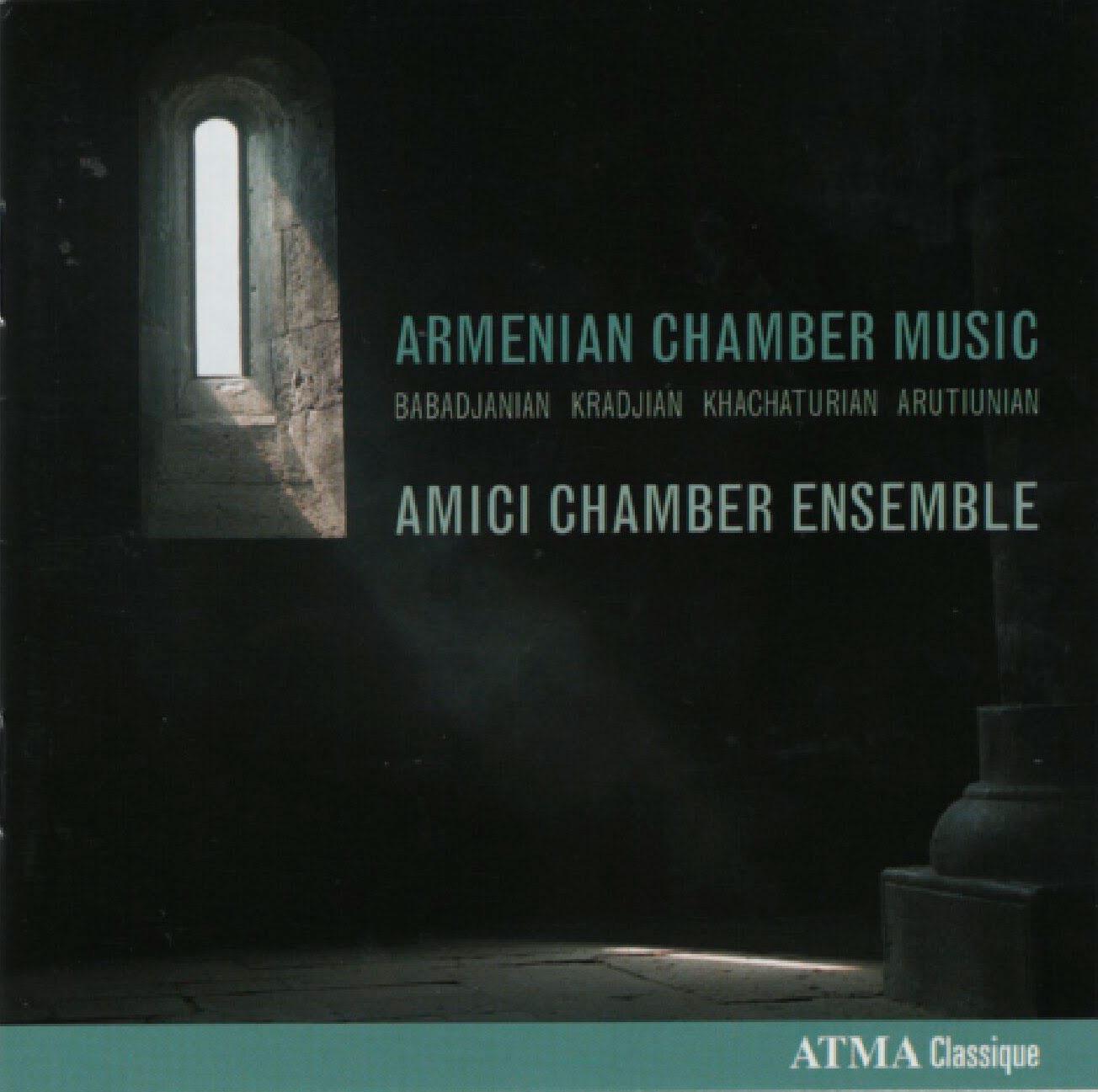 armenian chamber music cd cover