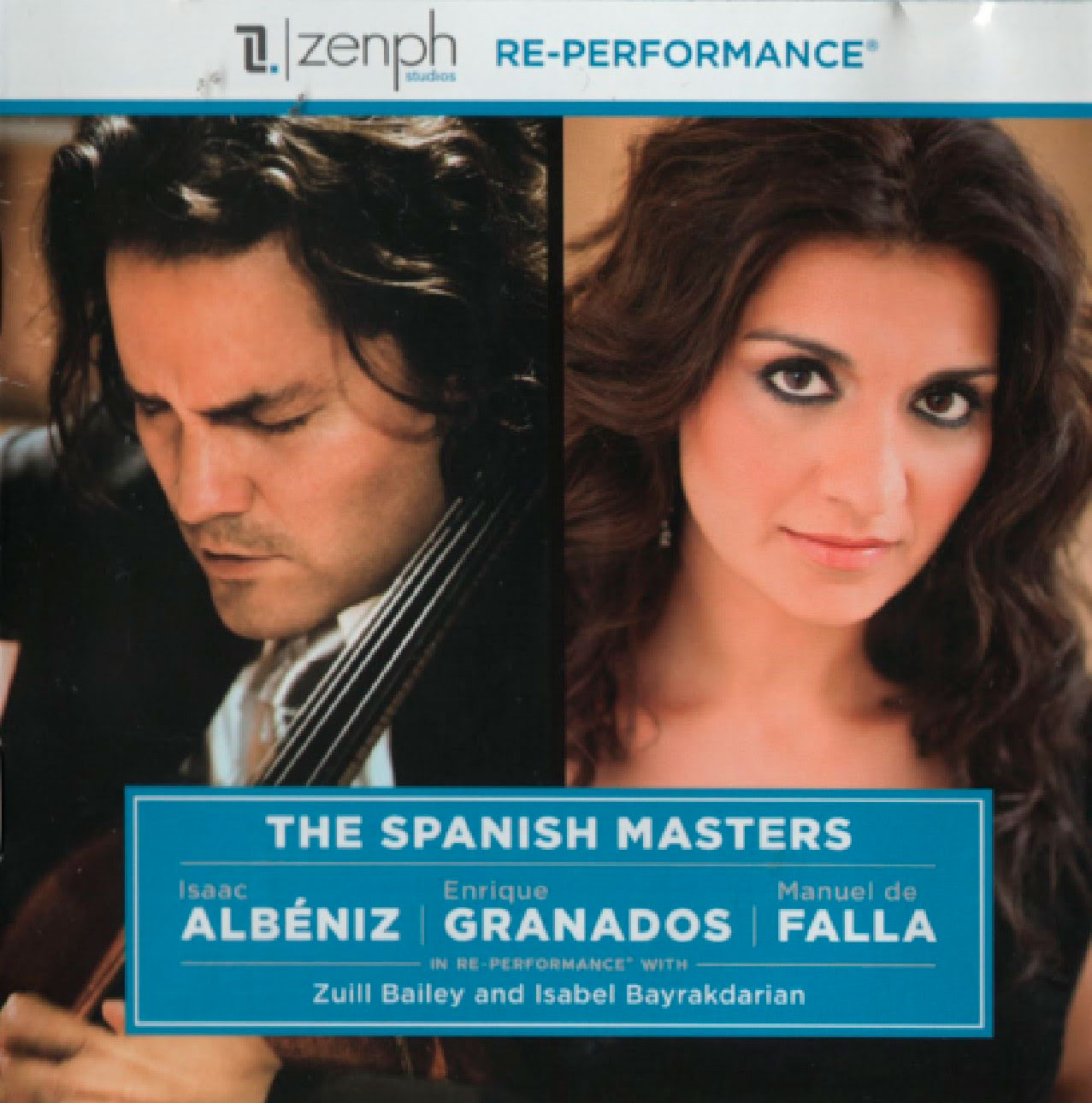 the spanish masters cd cover