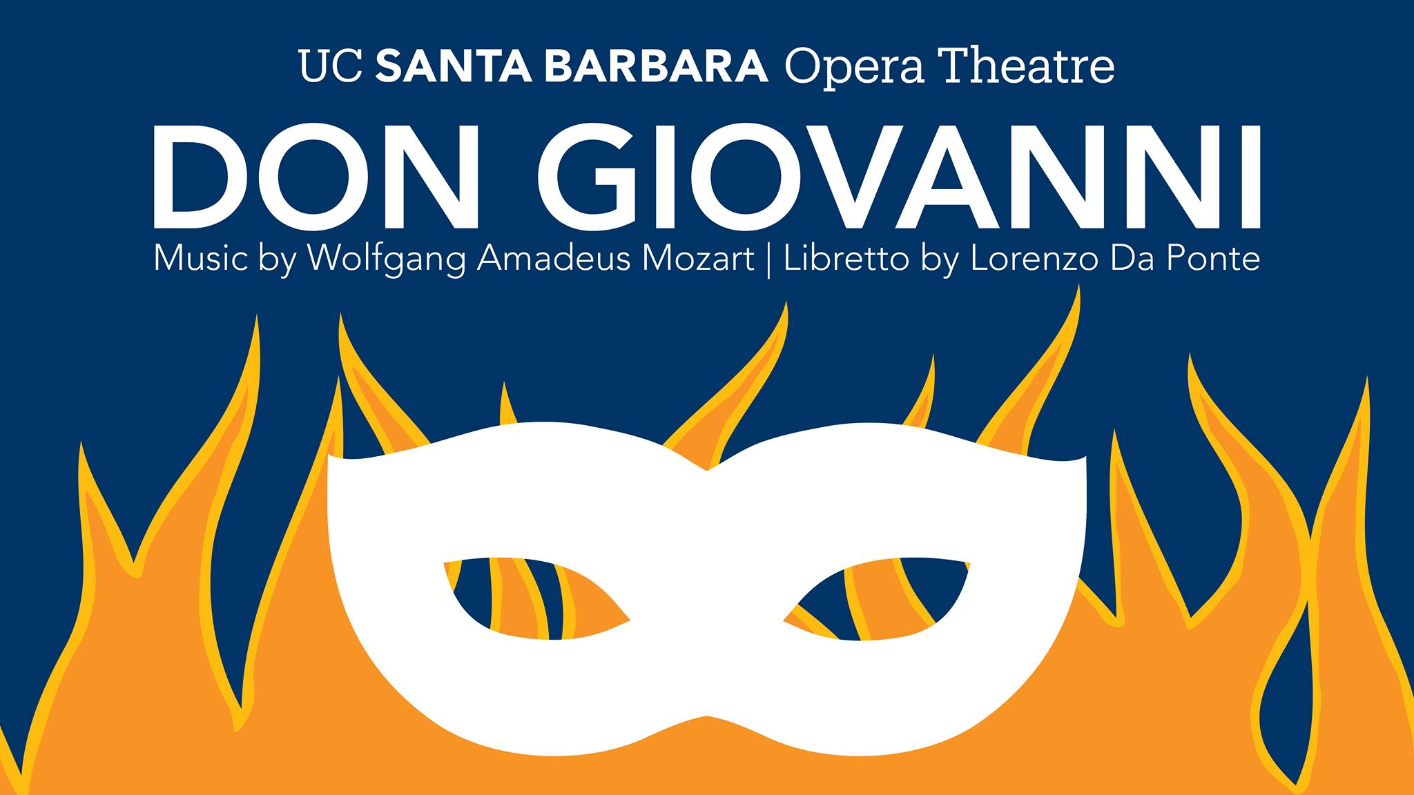 Poster for UCSB Don Giovanni